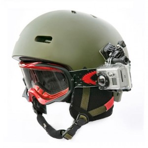 GoPro helm montage set